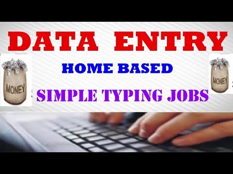 Data Entry Jobs Work from Home Without Investment [ make money online data entry ]