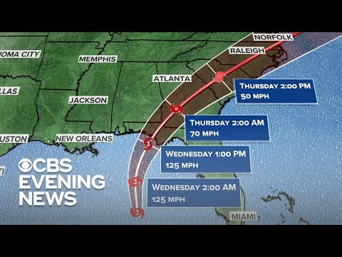 Hurricane Michael threatens Florida as Category 3 storm