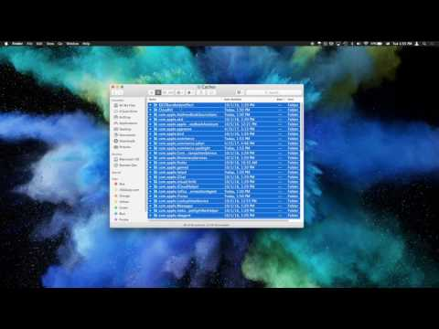 How to Clear Caches and Temporary Files on Mac OS