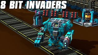 8-Bit Invaders - Marines Gameplay