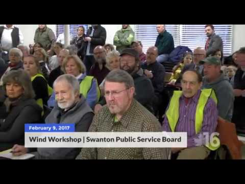 Wind Turbine Workshop | Swanton Public Service Board