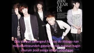 SHINee-Romantic with lyrics