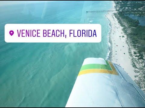 Venice Beach in Beechcraft Sierra