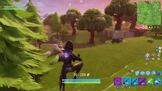I nearly won a game of Fortnite without gettng hit
