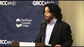 Grand Rapids Community College's library hosted an evening with Sal...