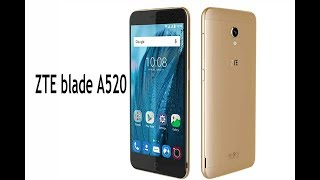 ZTE blade A520 launched with view full display review specs and price