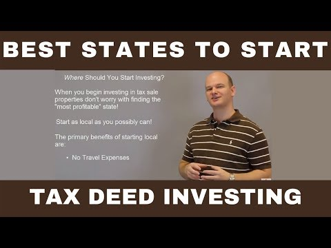 Best States To Start Tax Deed Investing