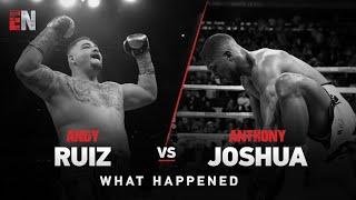 andy ruiz beats joshua  EsNews Boxing