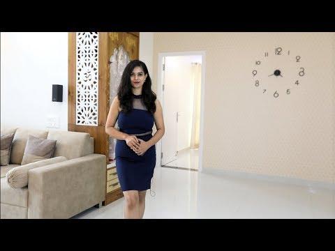 Best 3 BHK Interior Design In Bangalore | Durga Petals | Alembic Urban Forest | Handleless Kitchen