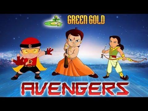 Chhota Bheem - Green Gold - Avengers