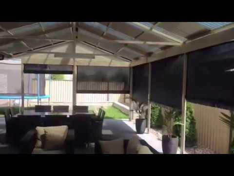 Alfresco Blinds Co Outdoor blinds solutions