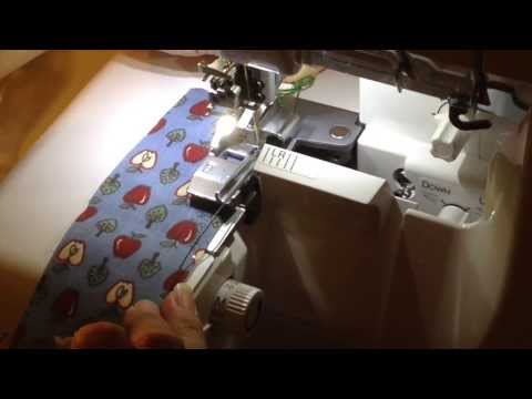 DIY-How to make wire ribbons using Babylock Serger Beading Foot