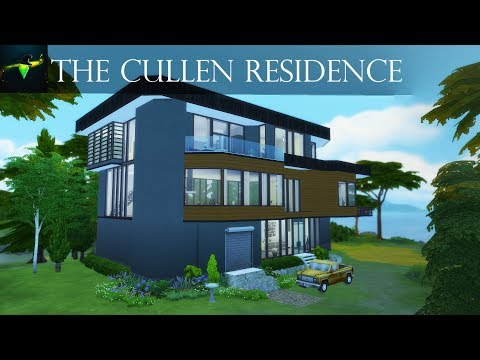 The Cullen Residence from Twilight (The Hoke House) | The Sims 4 speed build