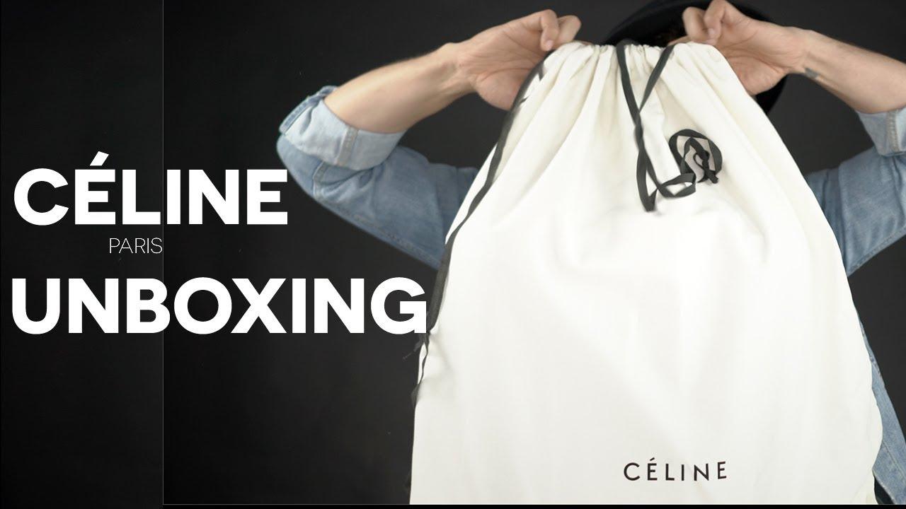 9b7b0c9ce931c Celine Bag Unboxing