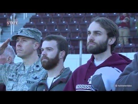 Veterans Visit MSU Baseball - February 5, 2016