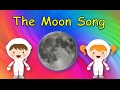 Moon Song For Kids | Song About The Moon | The Moon Song | Silly School Songs