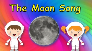 Moon Song for Kids   Song About the Moon   The Moon Song   Silly School Songs