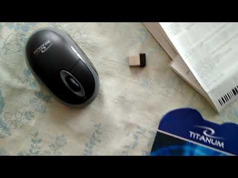 Мышь Esperanza Titanum TM116E Wireless Black/Grey