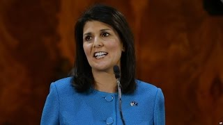 Haley called on Americans to reject Trump's anti immigrant statements and positions