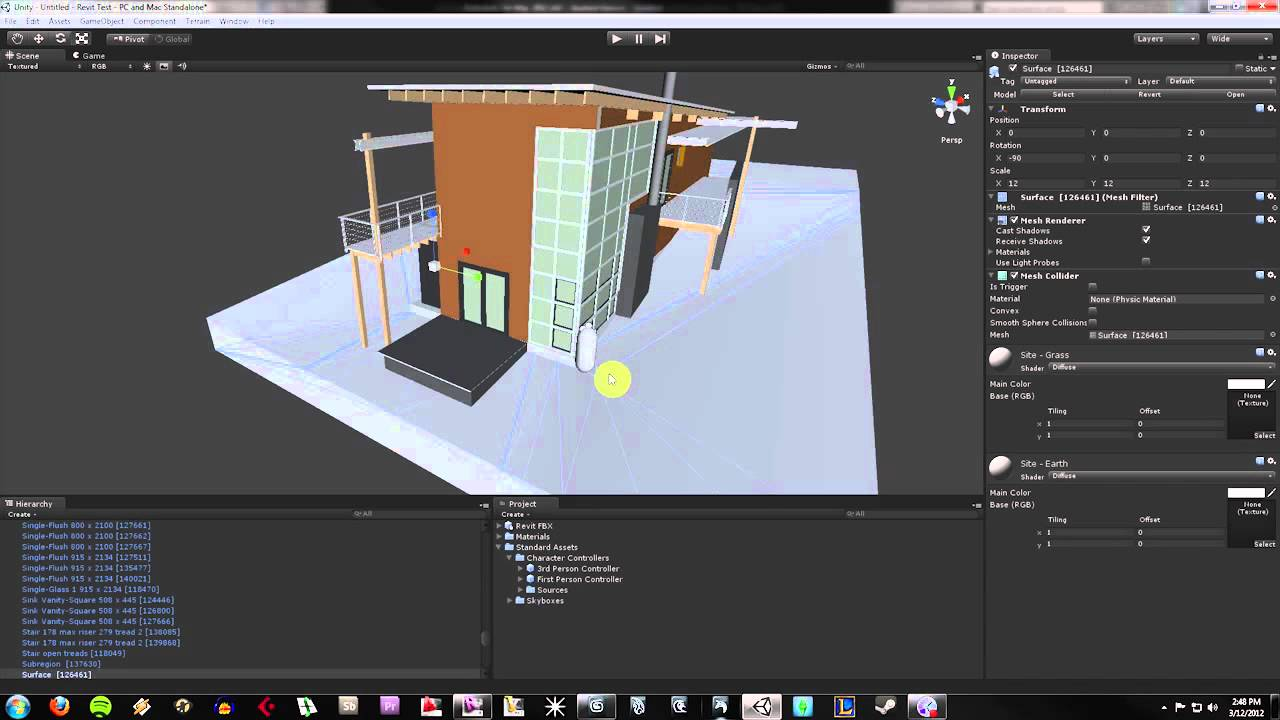 How To Import Revit Models Into Unity 3D