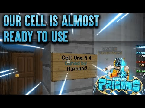 OUR CELL IS ALMOST READY TO USE!!! | COSMIC PRISONS | S5 EP 7 (SOVEREIGN PLANET)