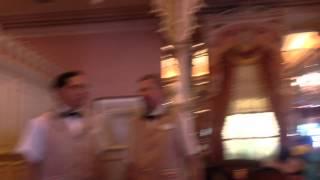 Pinnochio and Captain Hook - Plaza Inn Character Dining Dis