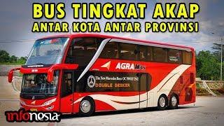 8 Bus Tingkat Antar Kota Antar Provinsi (AKAP) di Indonesia