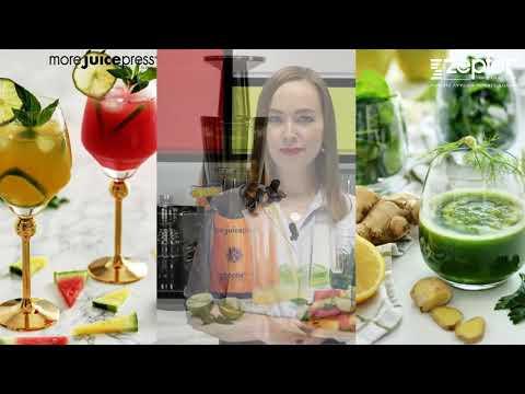 Готовим свежевыжатые соки в More Juice Press от Zepter