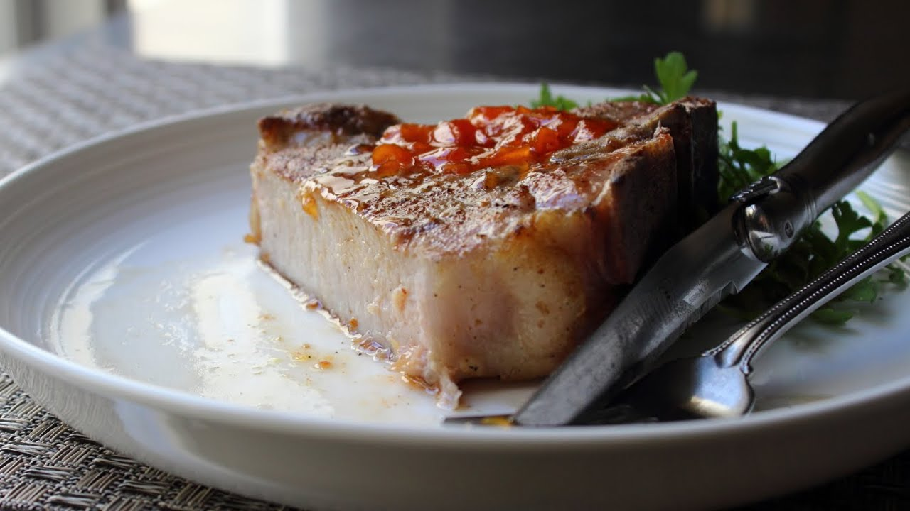 Brined pork chop recipes easy