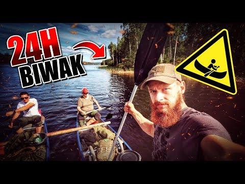 24H Biwak in Schweden mit Kanu und neuer Ausrüstung - Overnighter Übernachtung 2