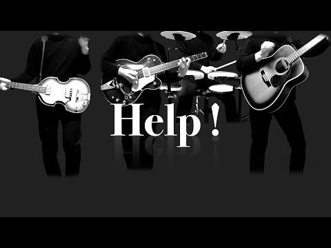 Help ! - The Beatles karaoke cover