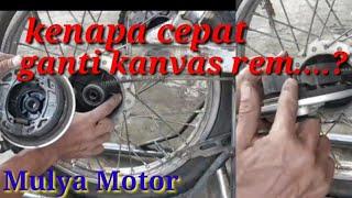 siasati Rem Tromol Yg Sering Lengket Dan Tidak Pakam.