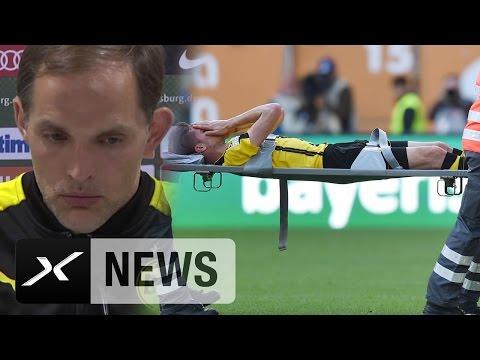 Julian Weigl schwer verletzt: So reagiert Thomas Tuchel | FC Augsburg – Borussia Dortmund 1:1