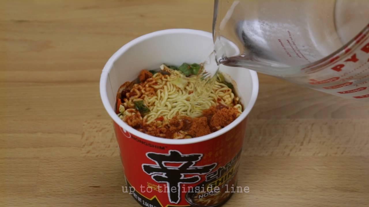 Shin Ramyun Cup Noodle Soup | World of Shin