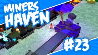Miners Haven #23 - OMG UPGRADERS FOR LIFE (Roblox Miners Haven)