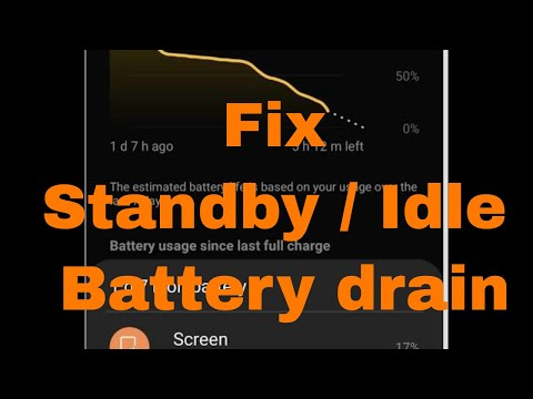 Fix Standby/idle Battery Life Samsung Galaxy S10 Series Without Using Any Battery Saving Apps