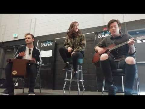Against the Current - Blood Like Gasoline (acoustic VIP - salt lake city