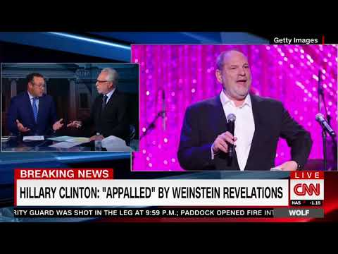 "CNN Criticizes Clinton's Weinstein Response, ""Took Her A While"" For A ""Very Short Statement"""