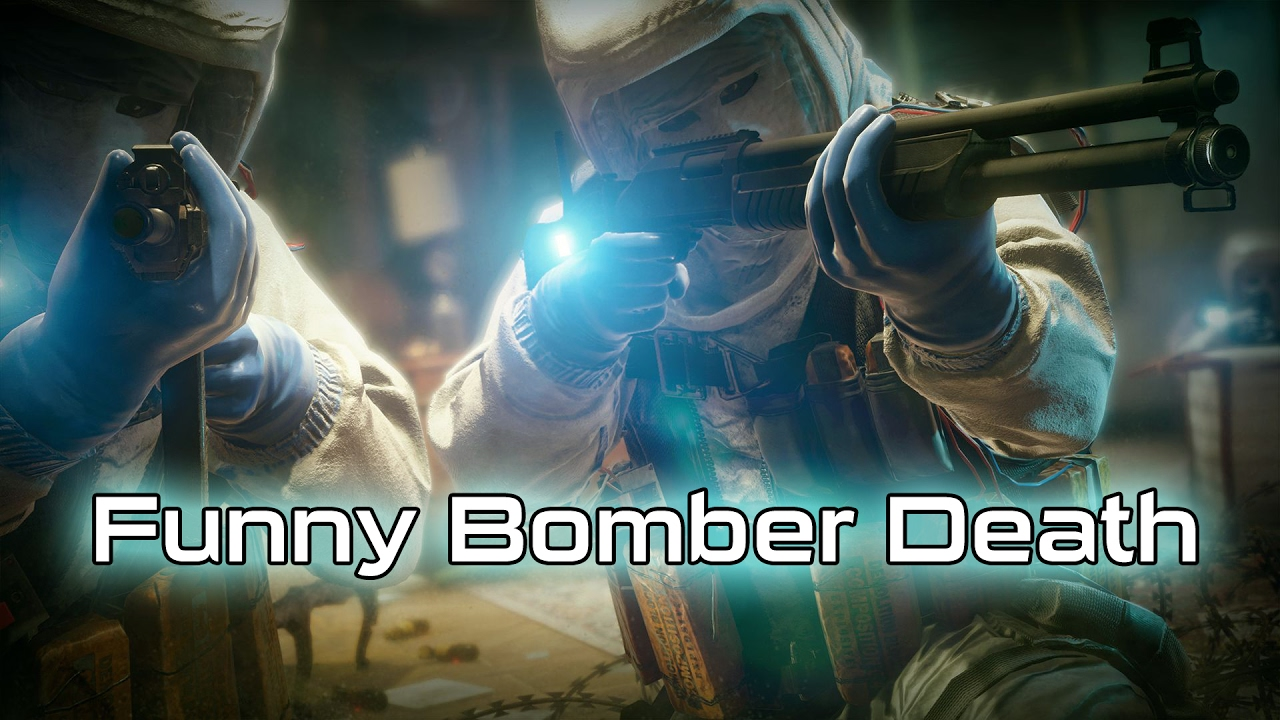 Rainbow 6 siege funny kill bomber laydown youtube - Rainbow six siege disable bomber ...