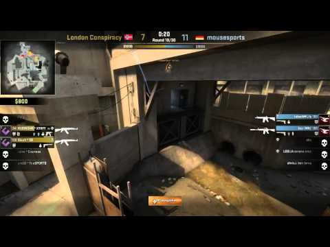 Caseking of the Hill #5 - mousesports vs. London Con. map 2