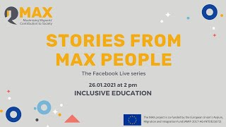 Stories from MAX people: Inclขsive education