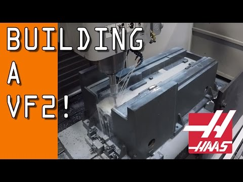 Building a HAAS VF2!  From Casting to Shipping!
