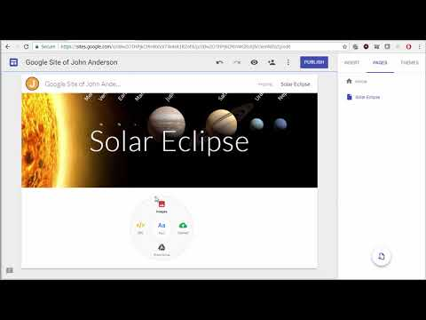 How to Create a New Google Site