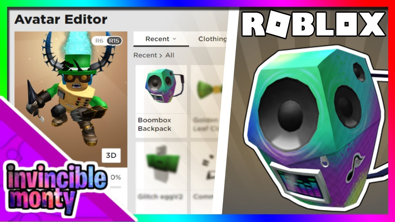 Event How To Get The Boombox Backpack Early Roblox Pizza Party Event - how to get boombox in roblox xbox one how to get free