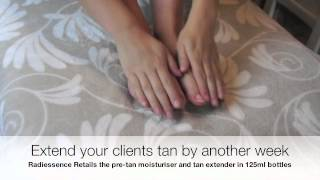 Radiessence manual tanning training part 4 Thumbnail