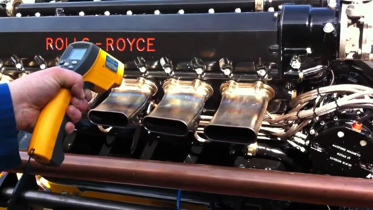 Retrotec Rolls Royce Kestrel Engine Test Youtube