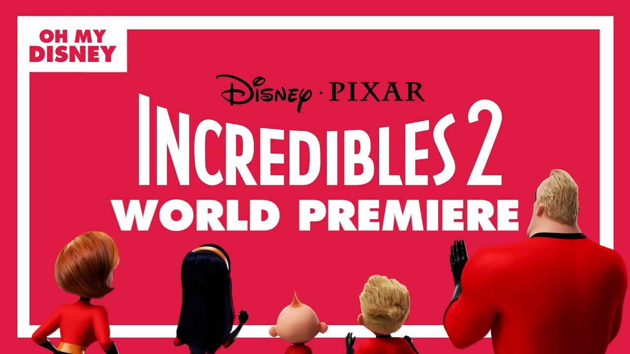 incredibles 2 world premiere live stream presented by alaska