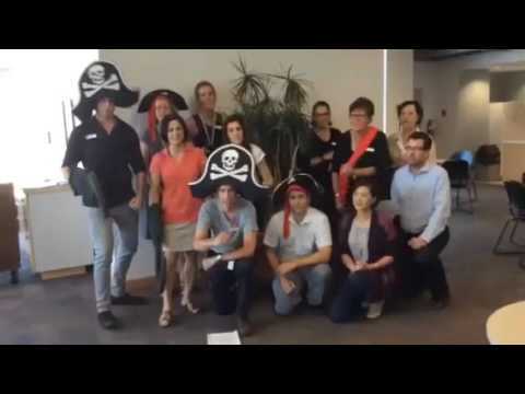 Pirate Day Birthday Song Performed by Hamilton Public Library Staff