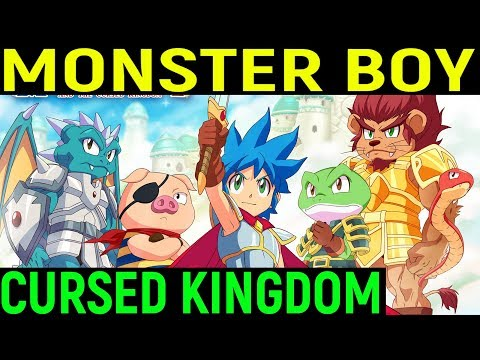Настоящий шедевр - Monster Boy and the Cursed Kingdom
