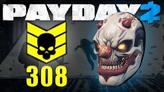 Crime Spree 308 CASH OUT and MEGA Rust Mask (Payday 2)